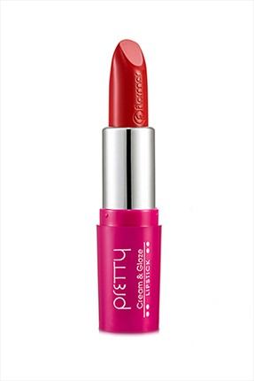Flormar Ruj - Pretty Lipstick Right Red P324