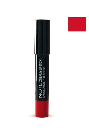 NOTE Kalem Ruj - Creamy Lipstick 204 Red Icon