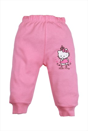 Hello Kitty Pembe Kız Pantolon