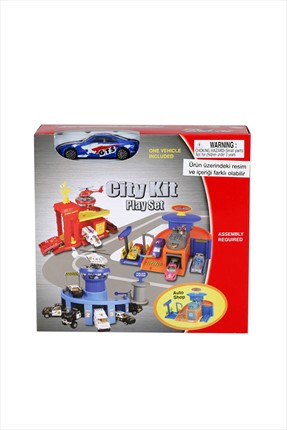 Learning Toys Auto Shop Diecast Garaj Kit Seti