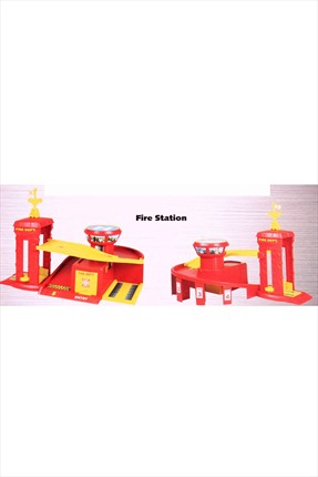 Learning Toys Fire Station Diecast Garaj Kit Seti