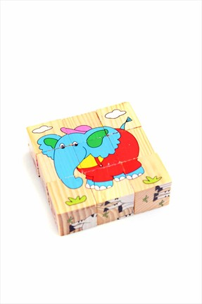 Learning Toys Wooden Puzzle Cubes Kupbl-10