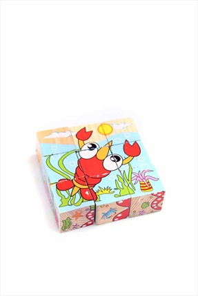 Learning Toys Wooden Puzzle Cubes Kupbl-11