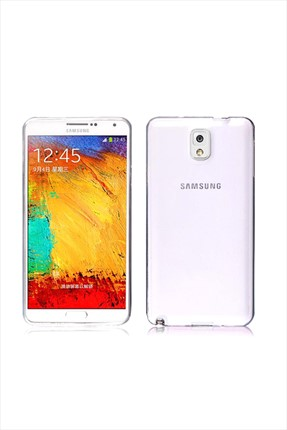 Samsung Galaxy Note 3 SAMSUNG NOTE3 0,2 Mm Silikon Kapak