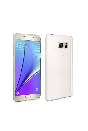 Samsung Galaxy Note 5 SAMSUNG NOTE 5 0,2 Mm Silikon Kapak