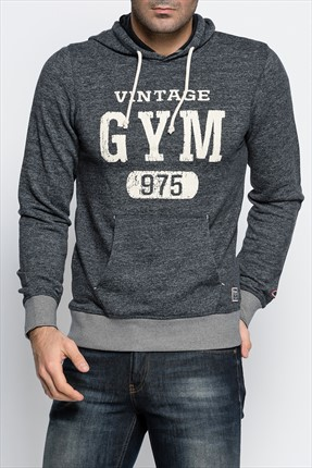 Jack & Jones Erkek Sweatshirt - Recycle Vintage -