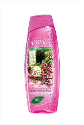 AVON Senses Garden Of Eden Duş Jeli 500 mL 201