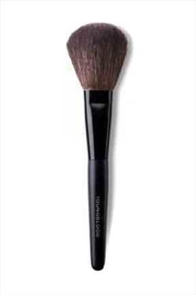 YOUNGBLOOD Makyaj Fırçası - Brown Faux-Rounded Face Brush