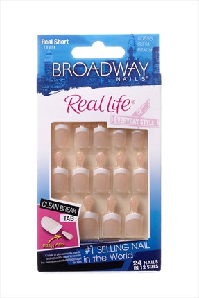 Broadway Takma Tırnak - Peach - Nails Real Life 00556