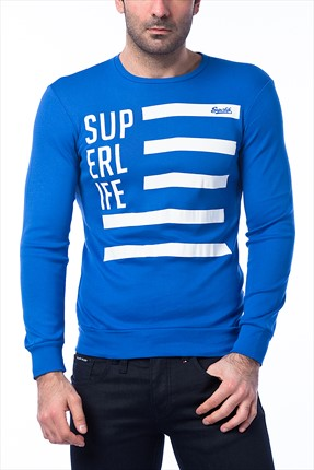 Superlife Saks Erkek Sweatshirt SPR 437