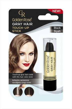 Golden Rose Saç Beyazlarını Kapatan Stick Siyah - Grey Hair Touch-Up Stick