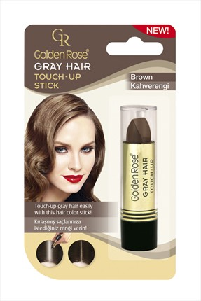 Golden Rose Saç Beyazlarını Kapatan Stick Kahverengi - Grey Hair Touch-Up Stick