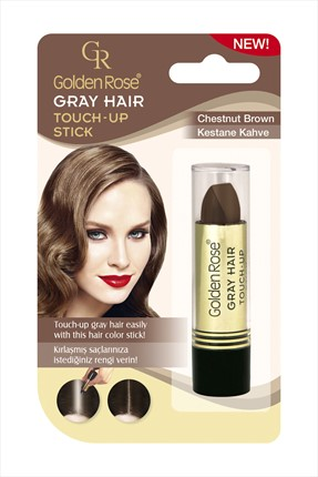 Golden Rose Saç Beyazlarını Kapatan Stick Kestane Kahve - Grey Hair Touch-Up Stick