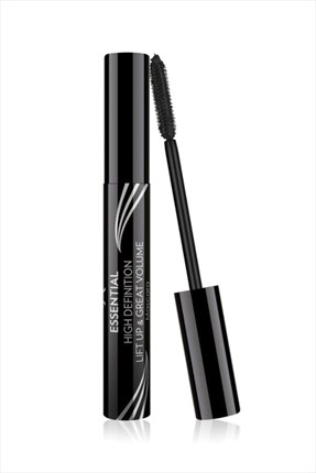 Golden Rose Hacim Etkili Siyah Maskara - Essential High Definition & Liftup & Great Volume Mascara