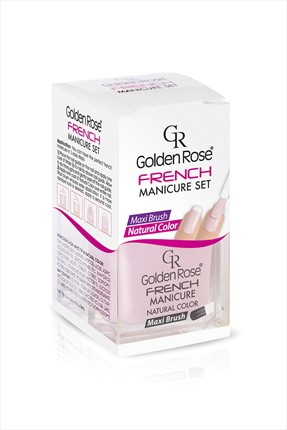 Golden Rose Manikür Seti - French Manicure Set No: 01