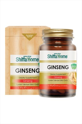 Aksu Vital Shiffa Home Ginseng 120 Tablet