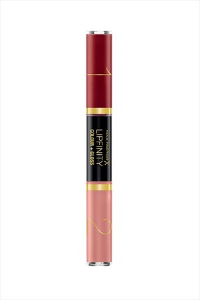 Max Factor Ruj ve Renkli Parlatıcı - Lipfinity Colour & Gloss 660 Infinite Ruby