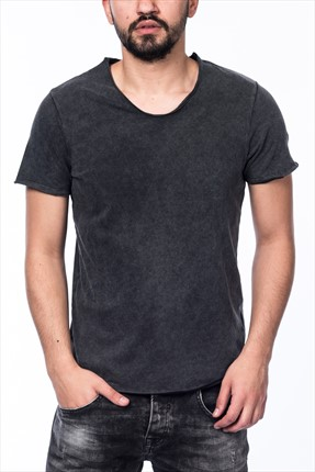 Jack & Jones T-Shirt - Burn Originals Tee SS U Neck -