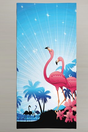 Nefnefhome 3D Summer Collection Plaj Havlusu 80x160 cm