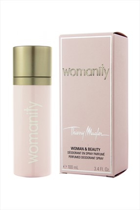 Thierry Mugler TM Womanity 100 ml Kadın Deodorant