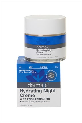 DERMA E Nemlendirici Gece Kremi - Hydrating Night Creme 60 mL 030985004670