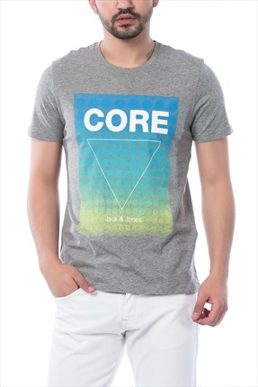 Jack & Jones T-shirt - Float-Belkin Core Tee SS Crew Neck Camp -