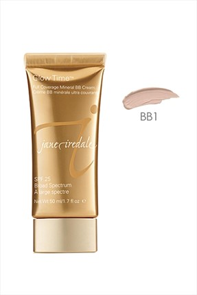 Jane Iredale BB Krem - Glow Time Full Coverage Mineral BB Cream No: BB1