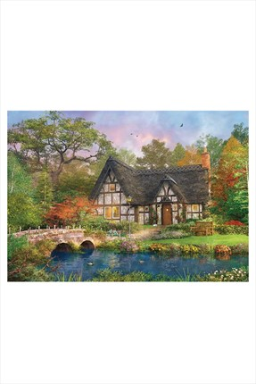 Ks Puzzle The Stoney Brıdge Cottage  2000 Parça Puzzle