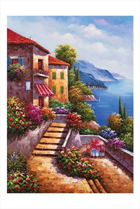 Ks Puzzle Stairs To Home  1000 Parça Puzzle