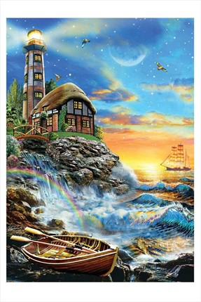 Ks Puzzle Twilight Lighthouse  500 Parça Puzzle
