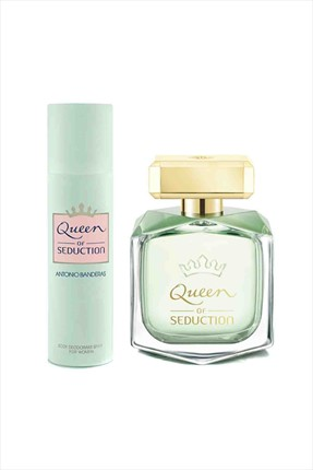 Antonio  Banderas Queen Of Seduction Kadın Parfüm Seti  Edt 80 mL + Deo Sprey 100 mL