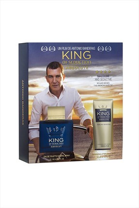 Antonio  Banderas King Of Seduction Absolute Edt 100 ml + Tıraş Sonrası Balsam 100 ml Erkek Parfüm Seti