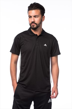 Adidas Erkek Training Polo Yaka T-shirt - Base 3S Polo -