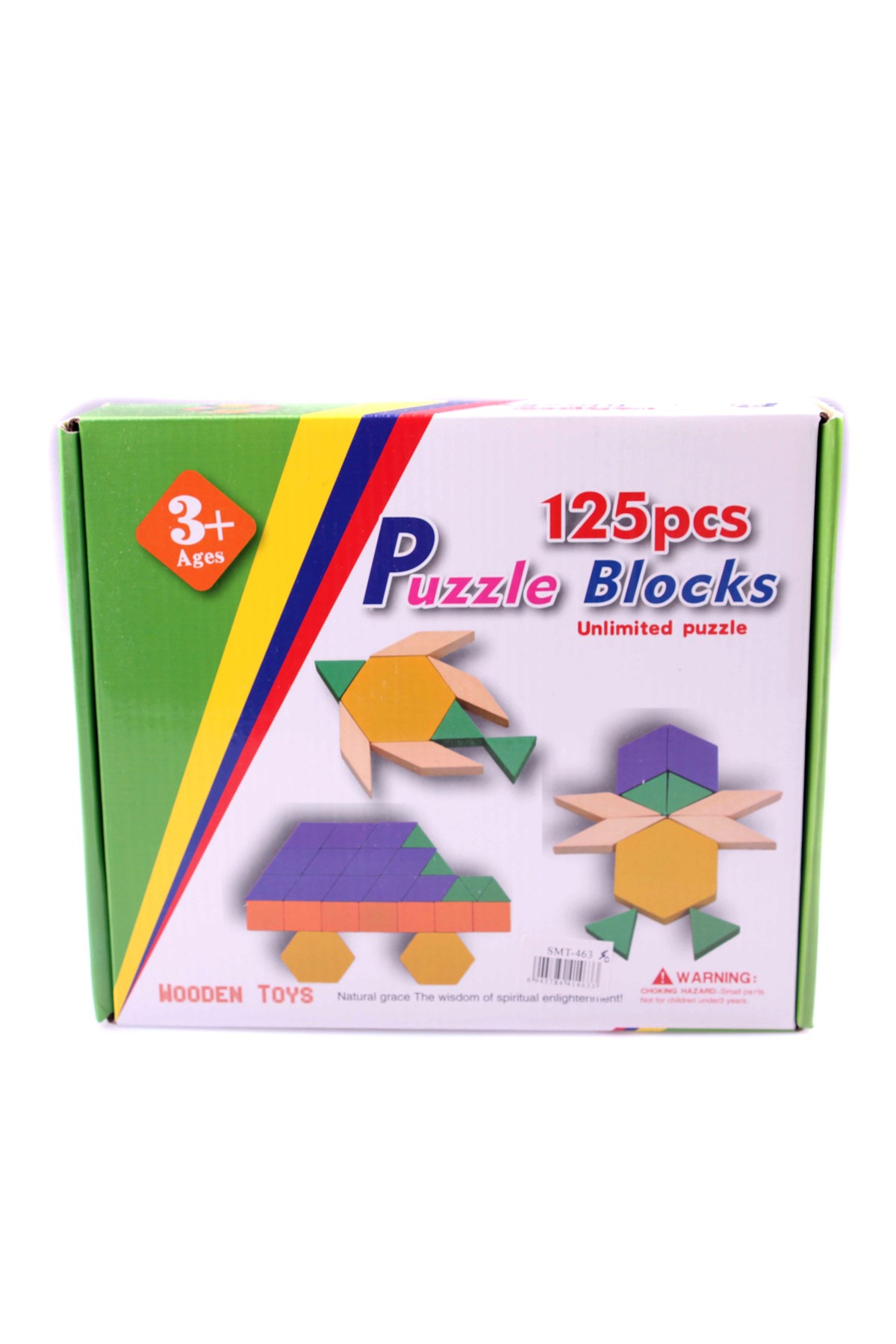learning toys 125pcs intellectual puzzle blocks