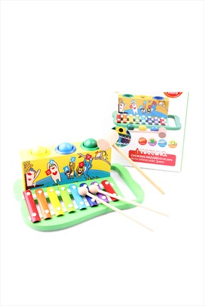 Learning Toys Wooden Knock The Ball Piano Yy-7561