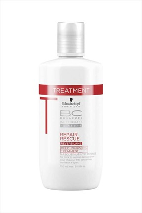 Bonacure Onarıcı ve Nemlendirici Saç Maskesi - Repair Rescue Deep Nourishing Treatment 750 mL