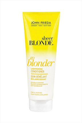 John Frieda Sarı Saçlar için Saç Kremi - Sheer Blonder Conditioner 250 ml