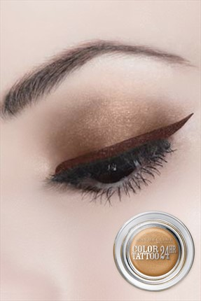 Maybelline Göz Farı - Color Tattoo 05 Eternal Gold