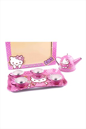 Hobby & Toys Hello Kitty Metal Çay Seti