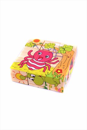 Learning Toys Wooden Puzzle Cubes Kupbl-2