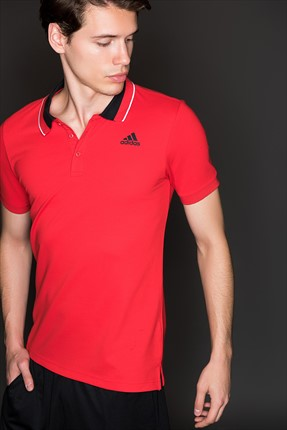 Adidas Erkek Training Polo Yaka T-Shirt - Ess Polo -