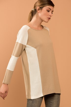 Vavist by trendyol Vizon Ekru Tunik