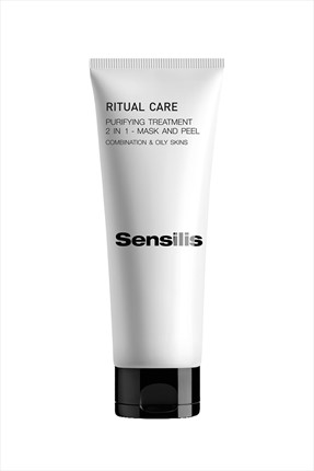 sensilis Yağlı Ciltler için Maske&Peeling - Ritual Care 2 İn 1 Mask And Peel 75 mL