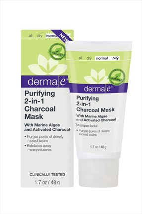 DERMA E Arındırıcı Maske - Purifying 2 in 1 Charcoal Mask 48 g