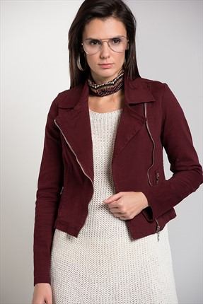 Sateen Kadın Bordo Mont 154-SATEEN101-Gm17-286