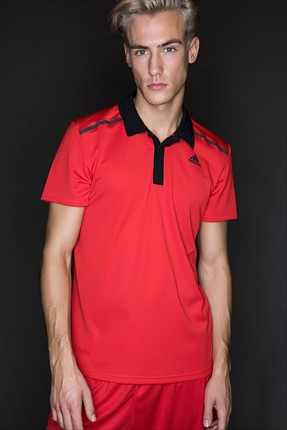 Adidas Erkek Training Polo Yaka T-Shirt - Q2 Cool365 Polo -