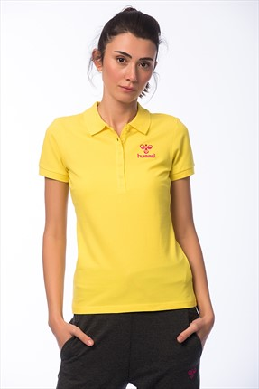 HUMMEL Kadın Polo Yaka T-Shirt - Woman Ss Polo Ss16 -