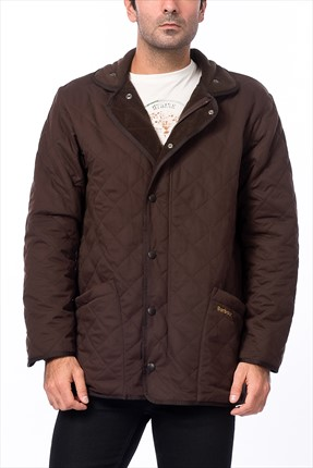 Barbour Erkek Mont - Microfibre Polarquilt Jacket Long -