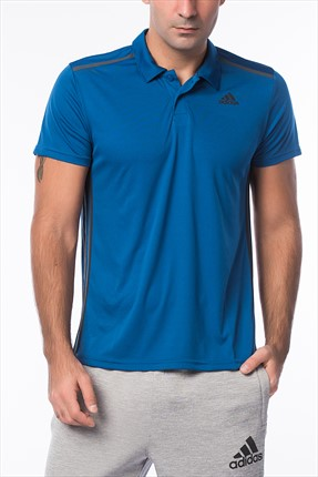 Adidas Erkek Polo Yaka T-Shirt - Cool365 Polo -