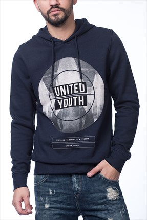 Jack & Jones Sweatshirt - Via Core Sweat Hood Neck Gmm -